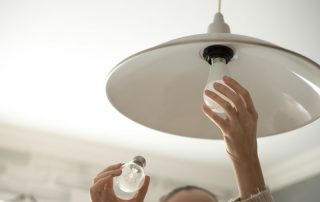Why you need an electrician to change a light bulb